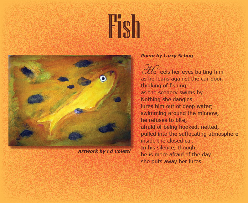 Fish poems for The fish poem